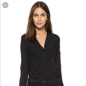 L'Agence Gia Black Top Size S (4,6)